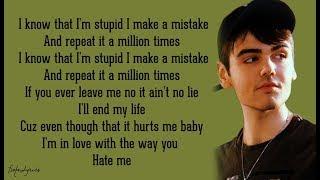 Paroles Nico Collins - Hate Me (Lyrics)