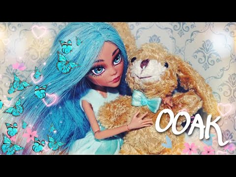 DIY Monster High OOAK Cleo de Nile doll repaint Custom