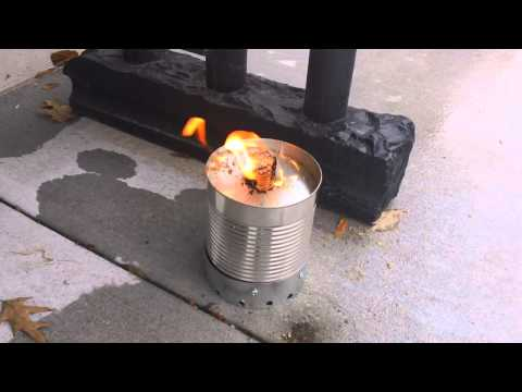 Waste Oil/ Saw Dust Burner for Rocket Stove