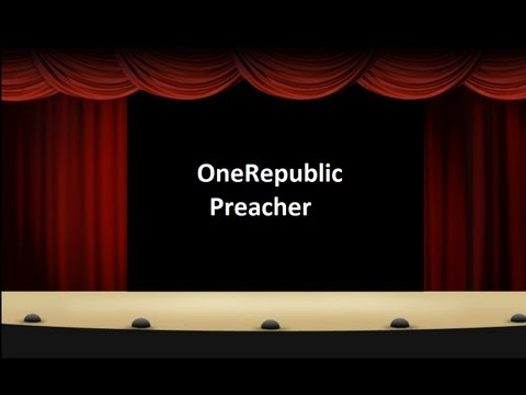 OneRepublic Preacher Lyrics (Native Album)