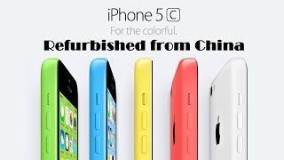 iPhone 5c Восстановленный Refurbished из Китая! AliExpress. Китай.