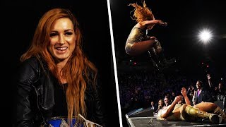 WWE EXCLUSIVE! Becky Lynch on being compared to Conor McGregor + facing Ronda Rousey!