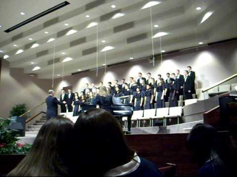 2009 Marquette Manor Baptist Academy Choir - Shenandoah - 01/17/2010
