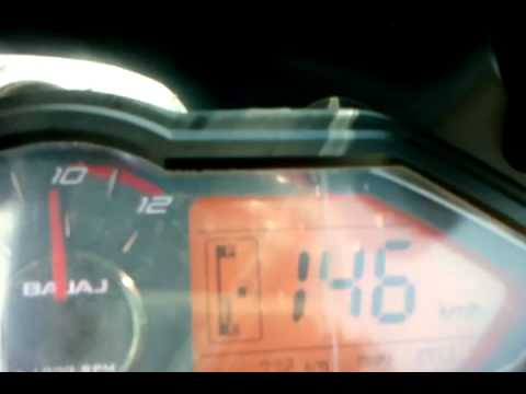 Bajaj 220 Velocidad maxima con 720km