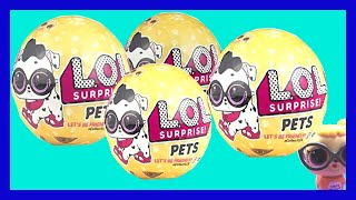 Đi Cửa Hàng Đồ Chơi Cùng Chị Bí Đỏ (phần 2) Mở Banh LOL Pets  Và banh 5 Surprise