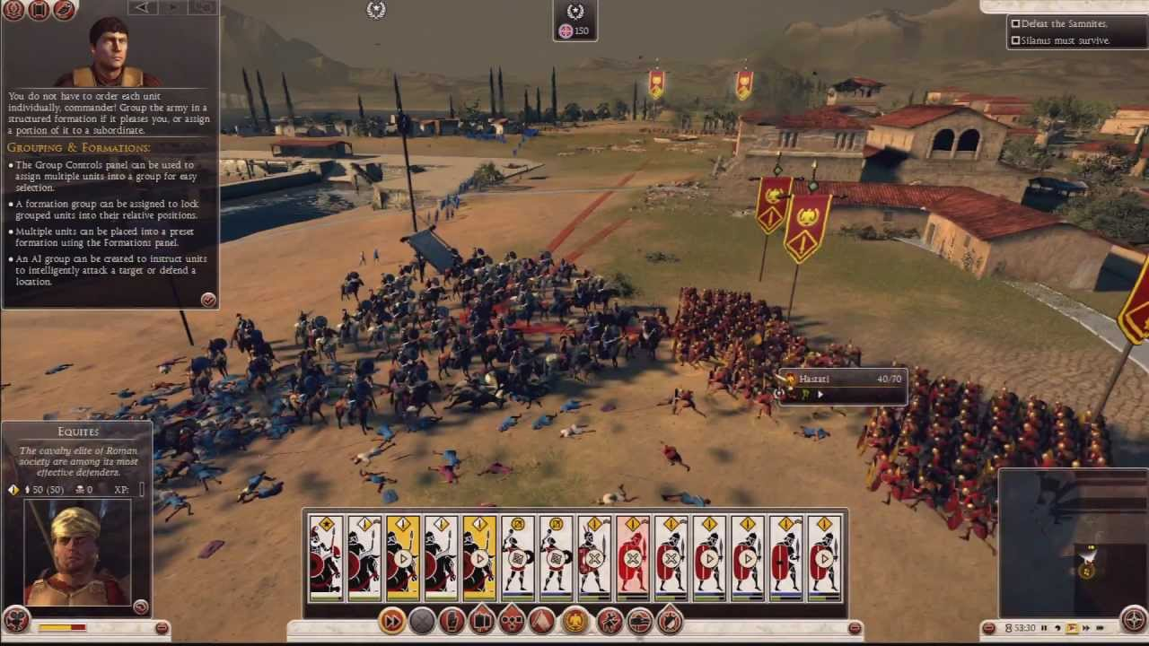 Total War Rome Ii Prologue Campaign Battle Gameplay
