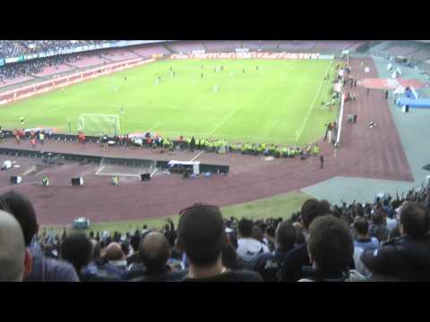 Napoli-Roma 2-0 01-11-2014 Gol Callejon Live in HD dalla Curva B