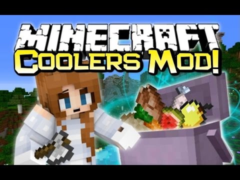 Minecraft - NOM! NEVER GO HUNGRY AGAIN! - Coolers Mod Spotlight