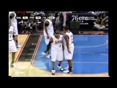 Allen Iverson 25pts vs Dirk Notwitzki the Mavs 05/06 NBA *2005.11.09
