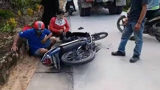 Tai nạn giao thông | mới nhất trong ngày | xe máy với xe tải | năm 2017