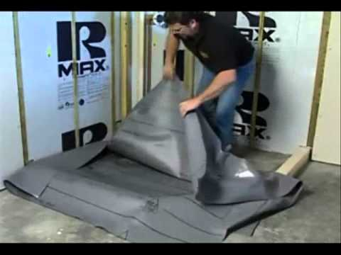 Build perfect shower with quick pitch and vinyl for Diy bathtub liner