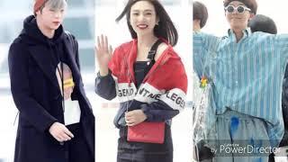 Moda de aeropuerto k-pop 2018