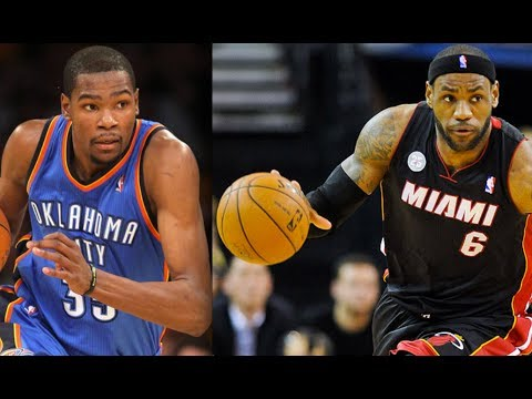 Miami HEAT LeBron James vs OKC Thunder Kevin Durant -- 2014 NBA MVP