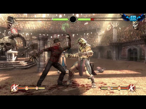 Mortal Kombat Komplete PC Freddy Krueger Ladder Playthrough