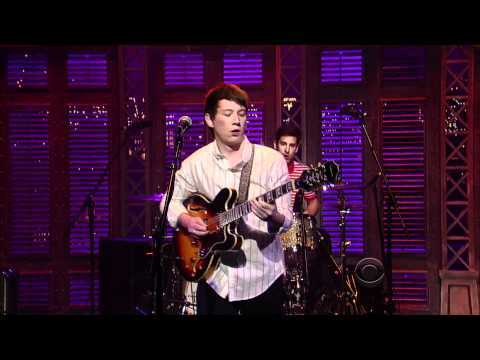 VIVA BROTHER - Live on the Late Show with David Letterman 6th May 2011