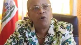 Mirlande manigat Conference on 2010 Haiti election