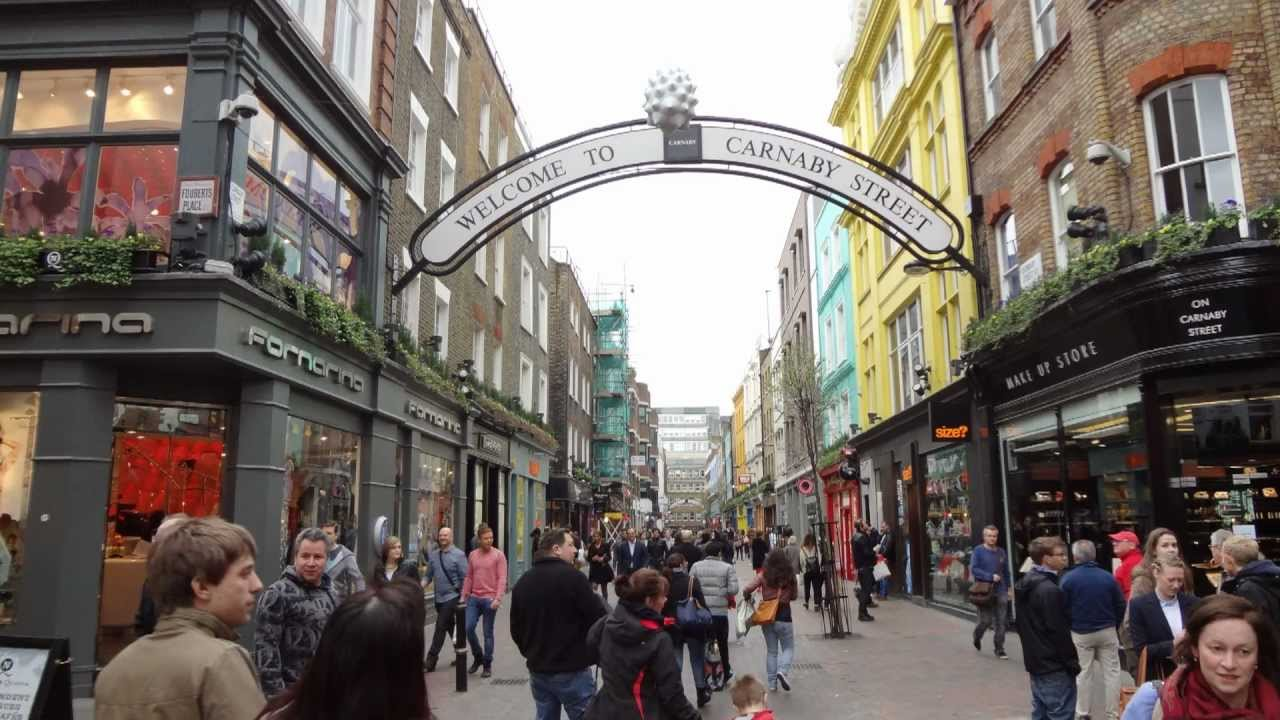 Carnaby Street London 31st March 2012 Youtube