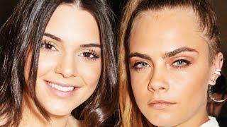Kendall Jenner Convinces Cara Delevingne To Quit Modeling