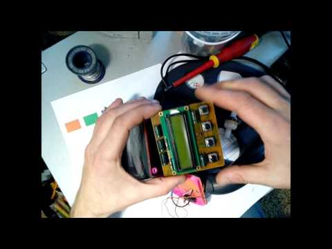 самодельный металлоискатель крот 2хм тест на tubethe.com