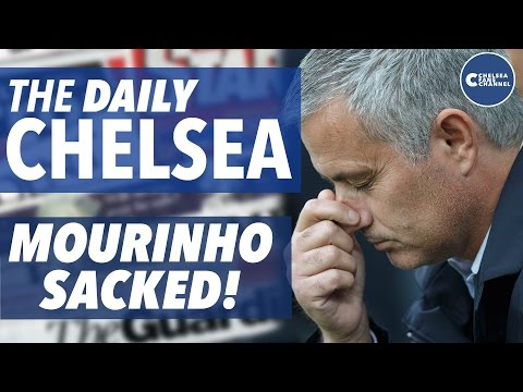 JOSE MOURINHO SACKED! - BREAKING NEWS - Abramovich fires manager AGAIN