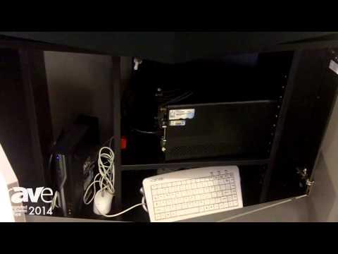 ISE 2014: Vogel's Introduces Large Display Video Conference Furniture