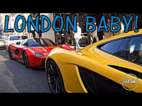 London Supercar Season KICKS OFF: LaFerrari & More!