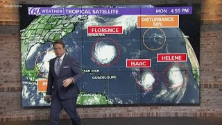 Tropical Update: Evacuations ahead of Florence