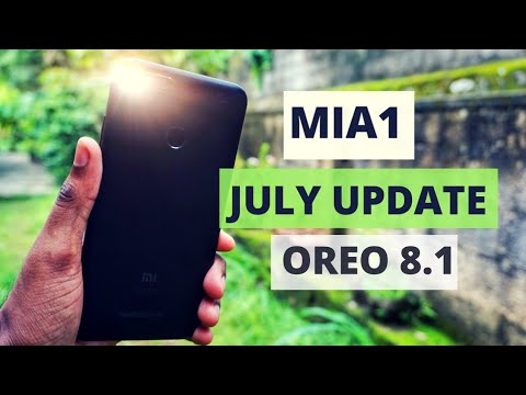 MiA1 Oreo 8.1 July Stable Update | What's New | Features Overview