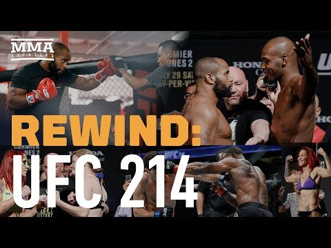 UFC 214 Rewind: Jon Jones Knocks Out Daniel Cormier - MMA Fighting