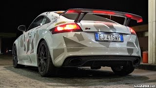 Audi TT-RS Custom Made Exhaust Sound - Launch Control, Accelerations and More!