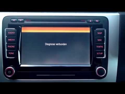 Volkswagen Passat B6/B7 RNS 510 codieren Display Darstellung ändern VCDS