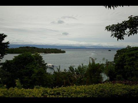 Island Garden City of Samal in Davao Gulf