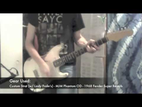 Stevie Ray Vaughan - Wham (cover) with Strat, Tubescreamer clone&'68 Fender Super Reverb