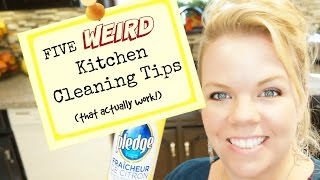 5 Weird Kitchen Cleaning Tips That REALLY Work!