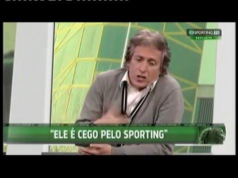 Entrevista de Jorge Jesus na Sporting TV.