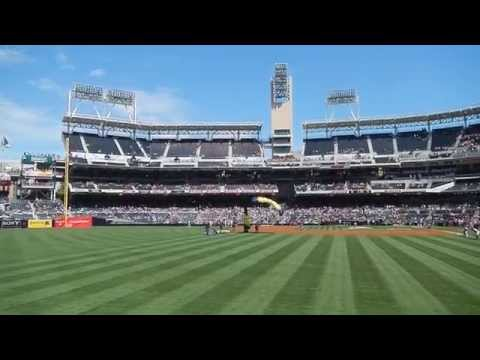 Navy Seal Parachute Team aka The Leap Frogs at Petco Park on the 4th