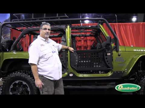 Quadratec at the SEMA Show: Body Armor 4x4 Trail Doors