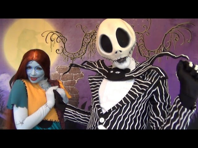 Jack Skellington & Sally Meet and Greet at Mickey's Not-So-Scary Halloween Party 2014, Talk Oogie