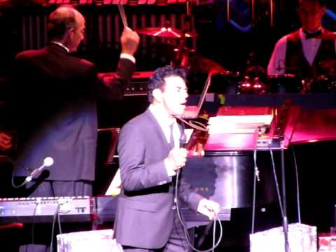 Johnny Mathis Christmas Show at The Ferguson Center For The Performing Arts, Christopher Newport University, Newport News, Virginia. November 30, 2009.