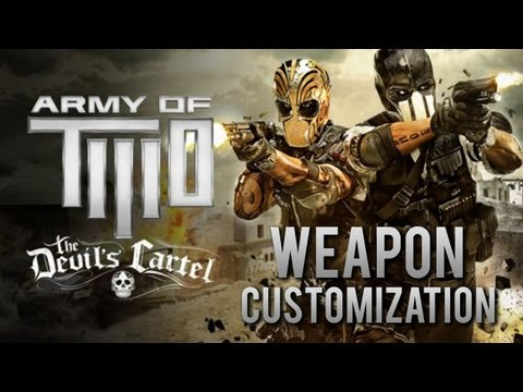 Army of Two: The Devil's Cartel - Weapon Customization