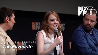 'The Favourite' Press Conference | Yorgos Lanthimos & Cast | NYFF56