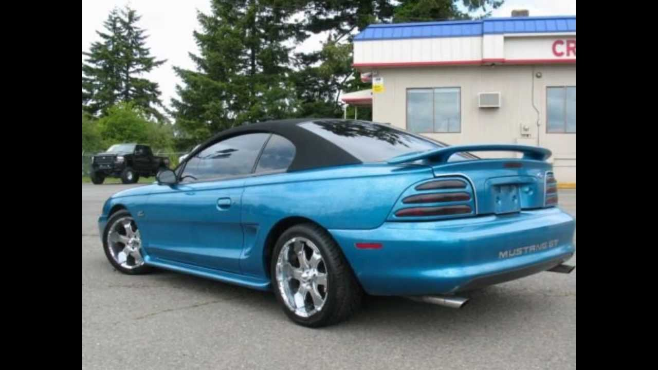 1995 Ford Mustang Gt Convertible For Sale Cheap W Custom