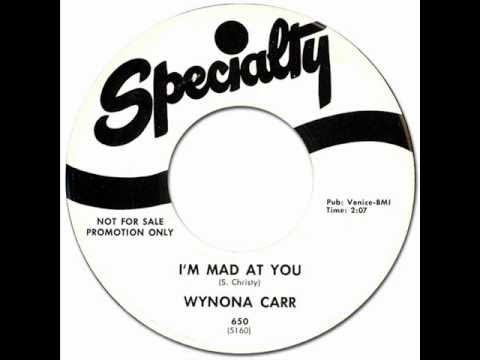 Thumbnail of video WYNONA CARR - I'm Mad At You [Specialty 650] 1958