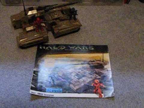 mega bloks halo scorpion tank instructions