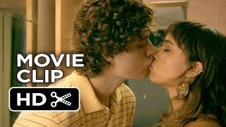 Treading Water Movie CLIP - Bathroom Kiss (2015) - Zoë Kravitz, Douglas Smith Drama Comedy HD