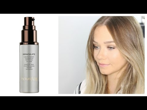 Hourglass Immaculate Liquid Powder Foundation  First Impressions Review   Beauty.Life.Michelle