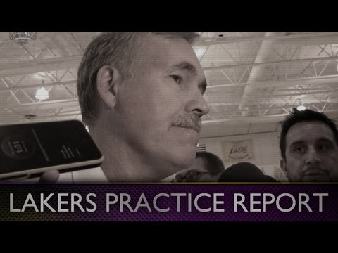 Lakers Practice: Mike D'Antoni On Kobe and Pau Gasol Injuries, Will There Be Limitations?
