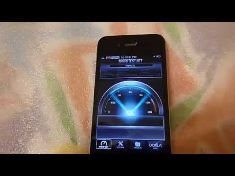 Apple iPhone 4 - 8GB - Black (Sprint) FULLY Flashed to PagePlus Cellular 3G Web