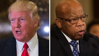 Trump fires back at Rep. John Lewis