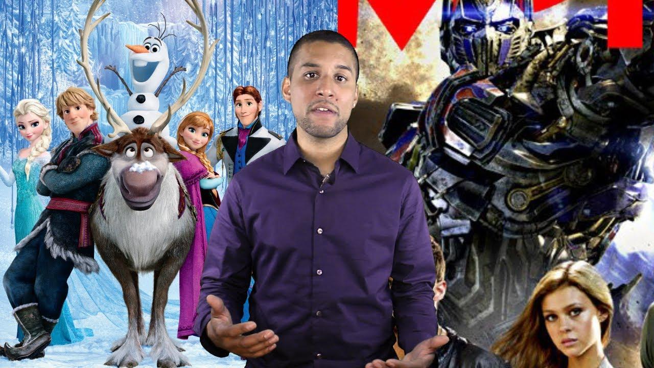 transformers 4  frozen movie review  raze trailer